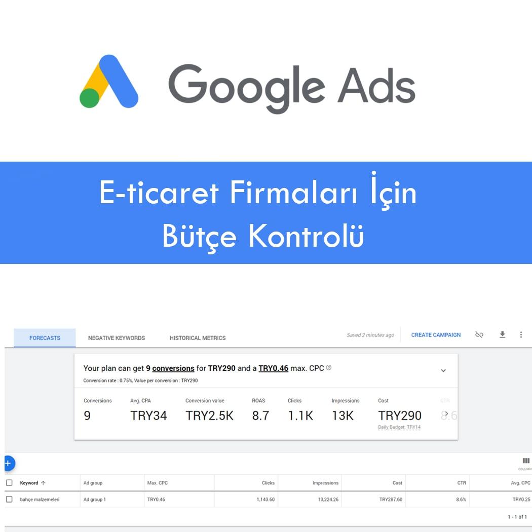 Google'da Bütçenizi Nasıl Kontrol Altında Tutabilirsiniz?